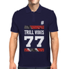 TRILL VIBES Mens Polo