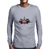 Trinidad and Tobago Island Crest Mens Long Sleeve T-Shirt