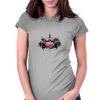 Trinidad and Tobago Island Crest Womens Fitted T-Shirt