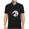 Trip to the Moon Mens Polo