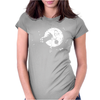 Trip to the Moon Womens Fitted T-Shirt
