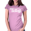 Triton Cafe Racer Motorcycle Womens Fitted T-Shirt