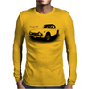 Triumph TR5 Classic British Sports Car Mens Long Sleeve T-Shirt