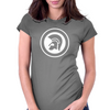 Trojan (White) Womens Fitted T-Shirt