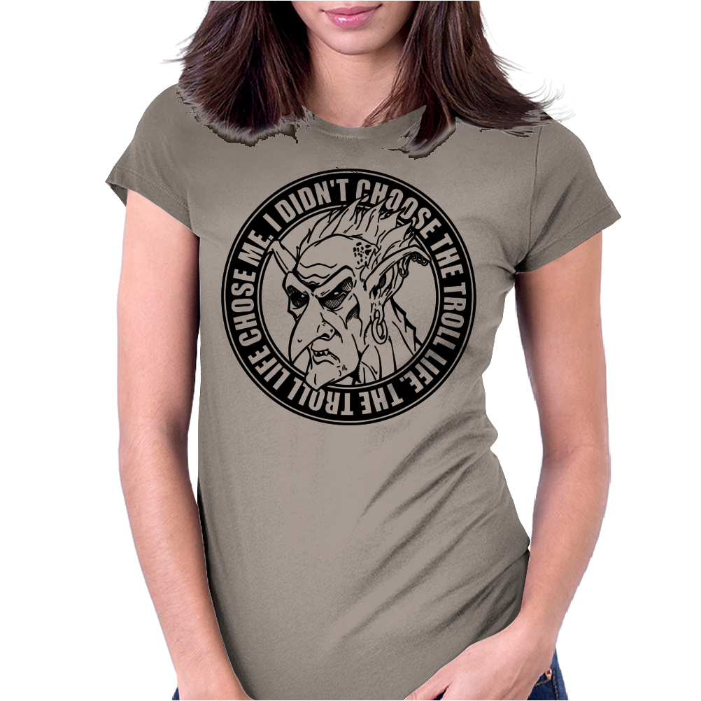 Troll Life Womens Fitted T-Shirt