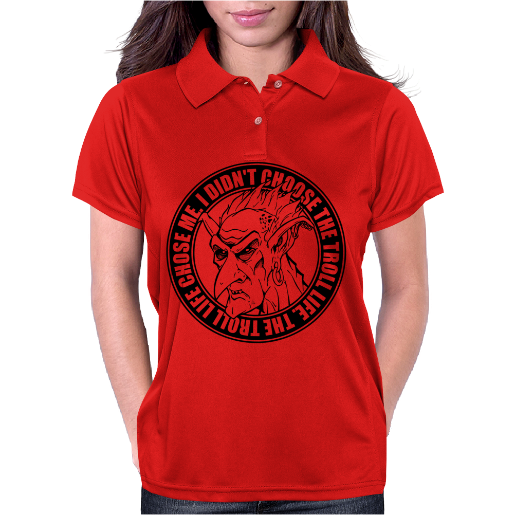 Troll Life Womens Polo