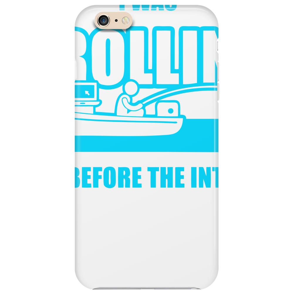Trolling Before The Internet Phone Case