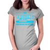 Trolling Before The Internet Womens Fitted T-Shirt