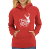 Trophy Wife Deer Womens Hoodie