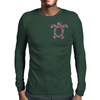 Tropic Sea Turtle Mens Long Sleeve T-Shirt
