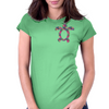 Tropic Sea Turtle Womens Fitted T-Shirt