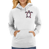 Tropic Sea Turtle Womens Hoodie