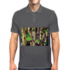 Tropical Plant Mens Polo