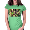 Tropical Plant Womens Fitted T-Shirt