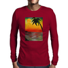 Tropical Sunset Mens Long Sleeve T-Shirt