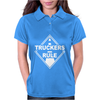 Truckers Rule Womens Polo