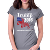 Trump 2016 Election Make America Great Again Womens Fitted T-Shirt