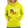 Trump 2016 Election Make America Great Again Womens Hoodie