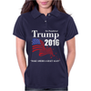 Trump 2016 Election Make America Great Again Womens Polo