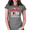 Trump 2016 Presidential Womens Fitted T-Shirt