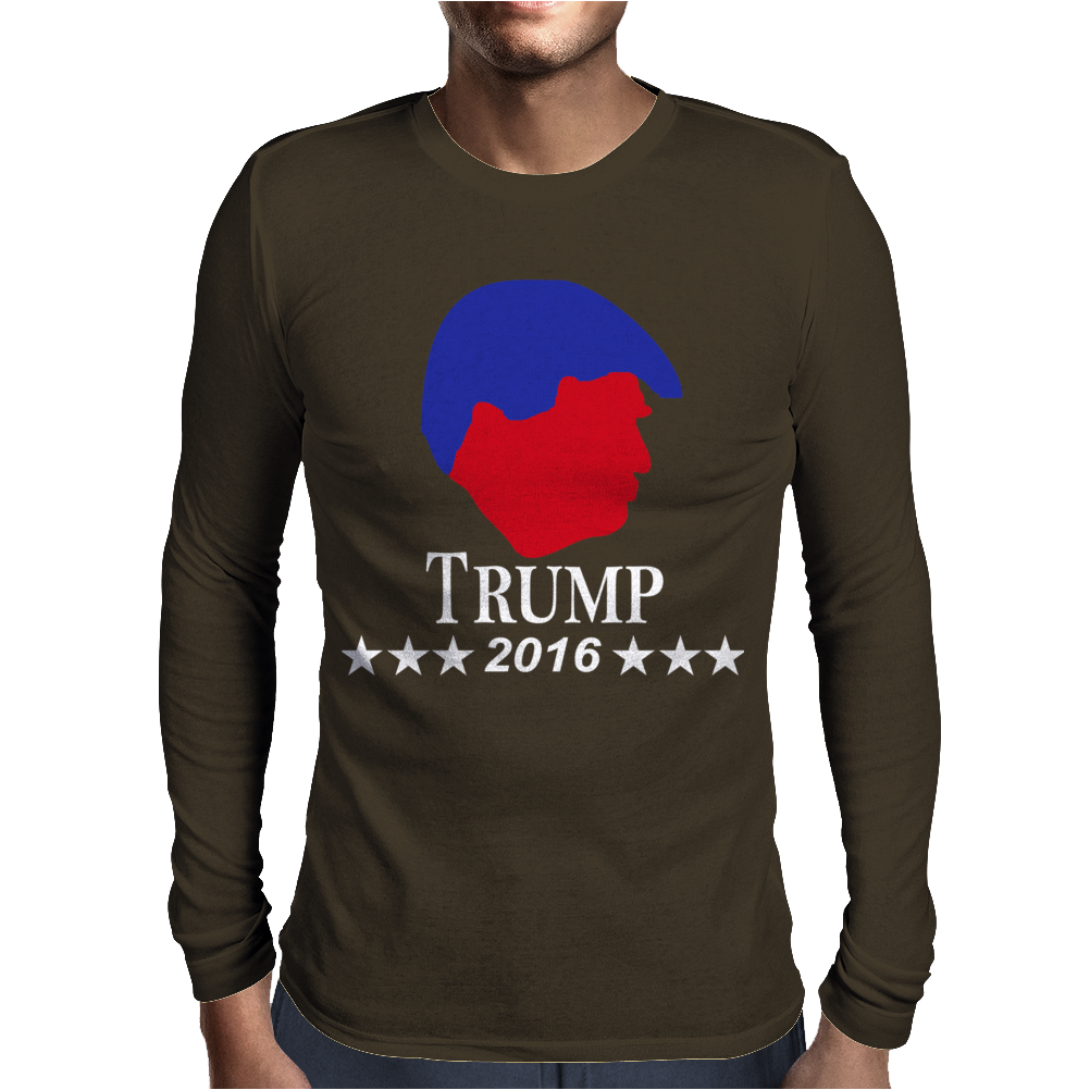 Trump For President 2016 Election Republican Political Mens Long Sleeve T-Shirt