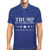 Trump For President 2016 Mens Polo