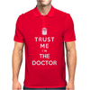 Trust Me I`m The Doctor Mens Polo