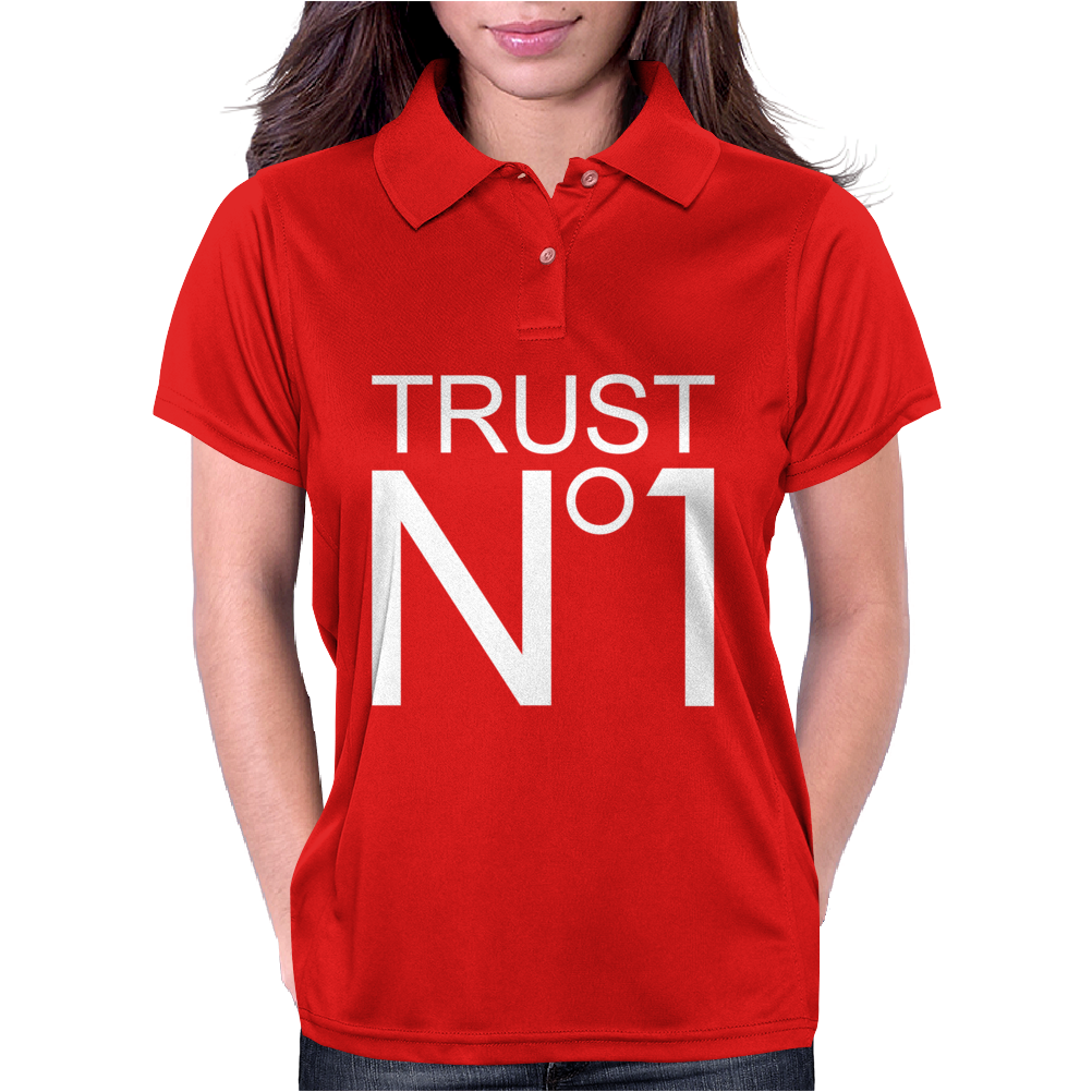 Trust No 1 Hip Hop Rock Party Womens Polo
