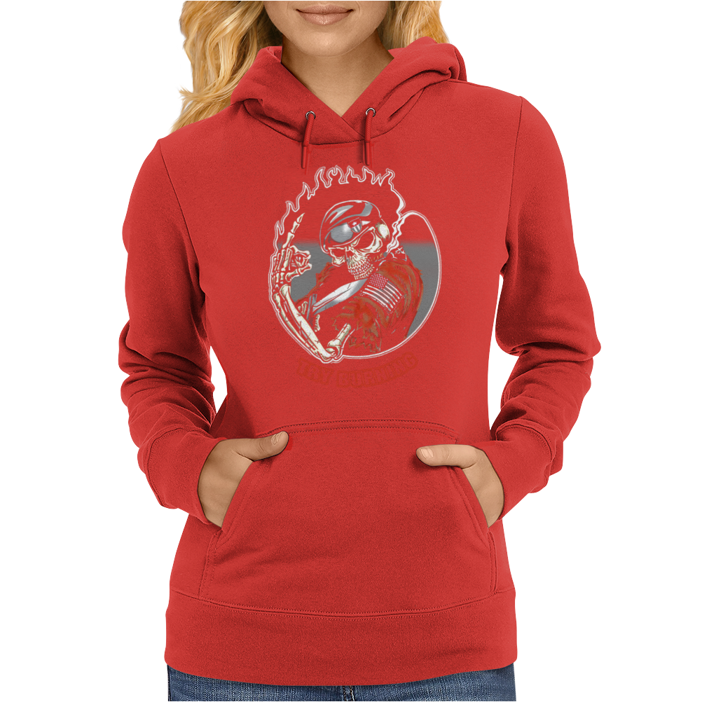 Try burning Womens Hoodie