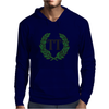 TT Winners Wreath Green Mens Hoodie