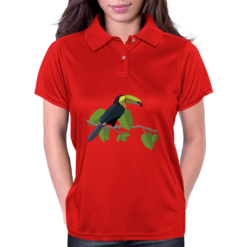 Tucan arcoiris, animal Colombia Womens Polo