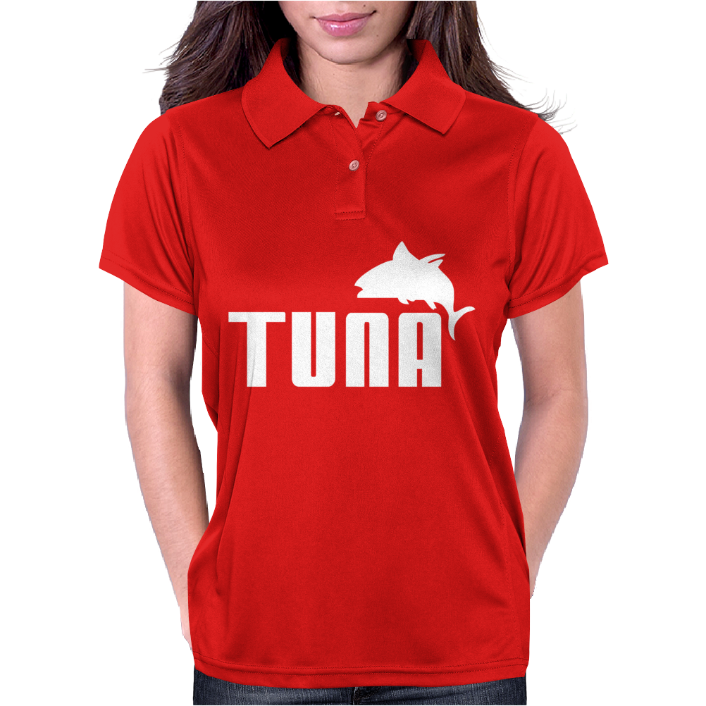 Tuna - Mens Funny Womens Polo