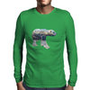 Tundra Arctic Polar Bear Mens Long Sleeve T-Shirt