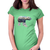 Tundra Arctic Polar Bear Womens Fitted T-Shirt