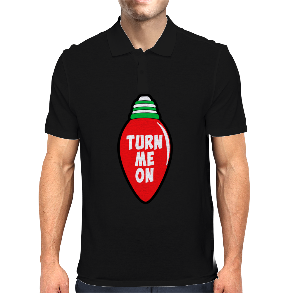 Turn Me On Mens Polo