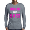 Turn Up The Bass Mens Long Sleeve T-Shirt