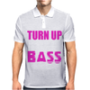 Turn Up The Bass Mens Polo