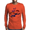 Turtles in a Half Shell Mens Long Sleeve T-Shirt