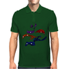 Turtles in a Half Shell Mens Polo