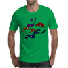 Turtles in a Half Shell Mens T-Shirt