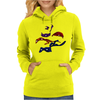 Turtles in a Half Shell Womens Hoodie