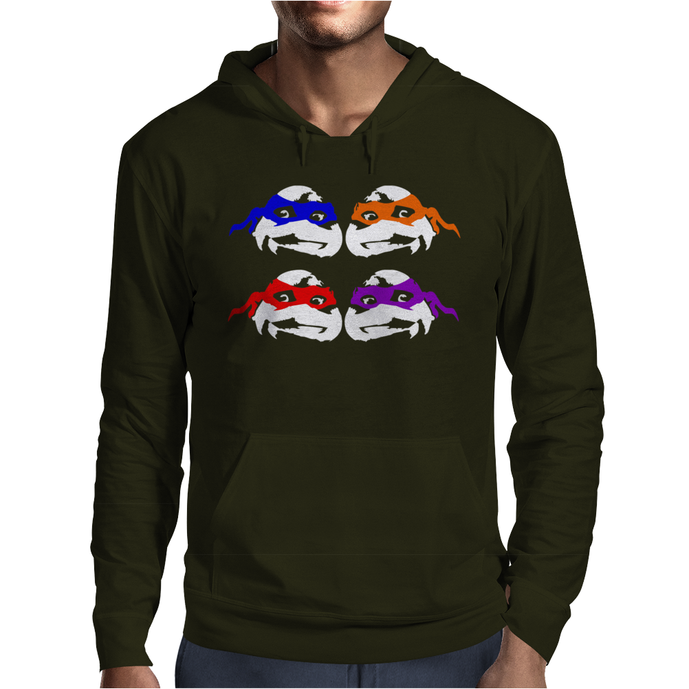 Turtles  Splinter Ninja Serie Fun Mens Hoodie