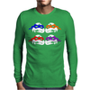 Turtles  Splinter Ninja Serie Fun Mens Long Sleeve T-Shirt