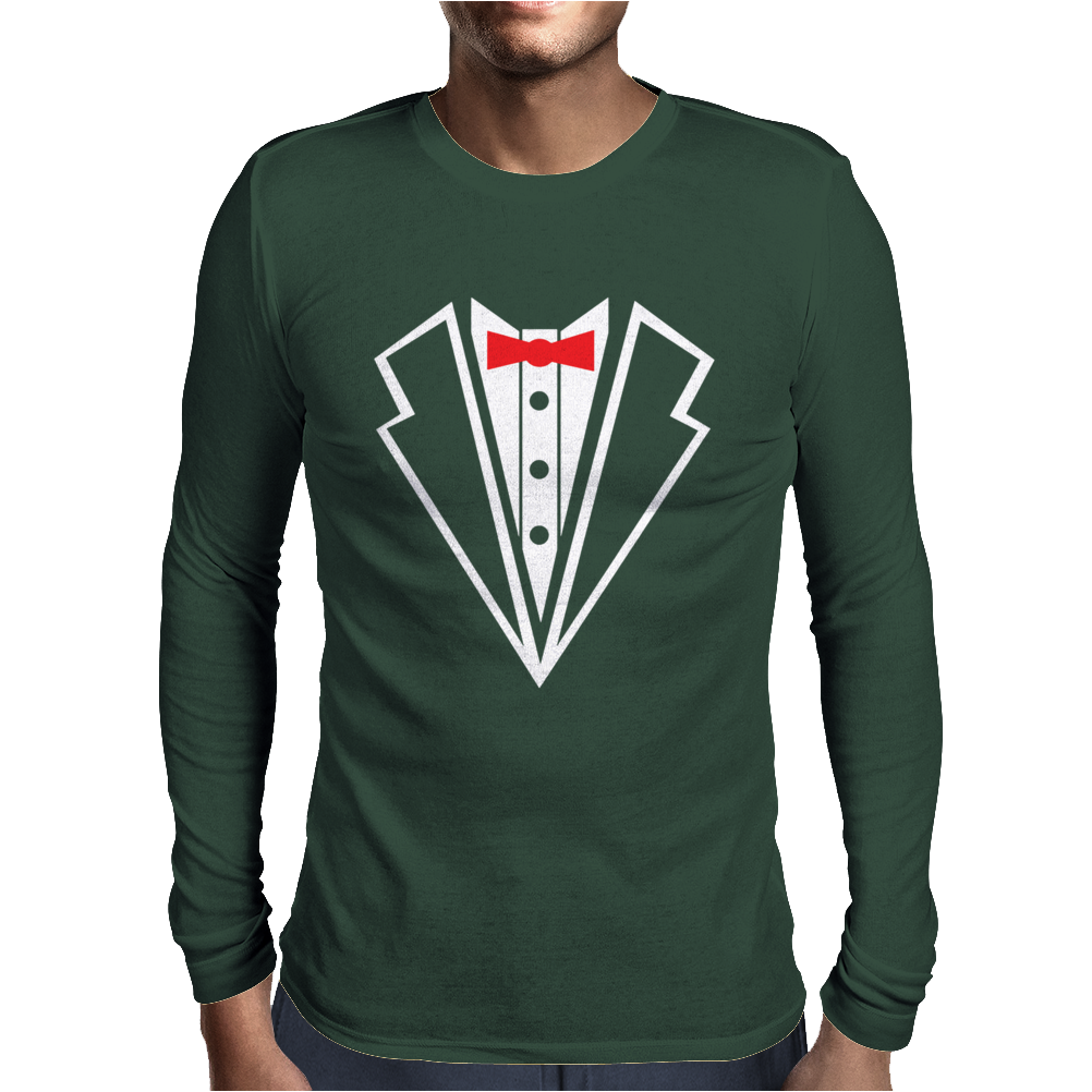 Tuxedo Baby Mens Long Sleeve T-Shirt