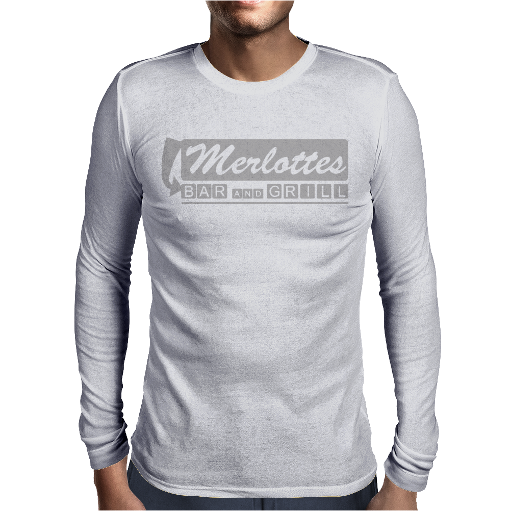 TV T-shirt inspired by True Blood - Merlottes Mens Long Sleeve T-Shirt