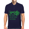 TWIN PEAKS  OWLS Mens Polo