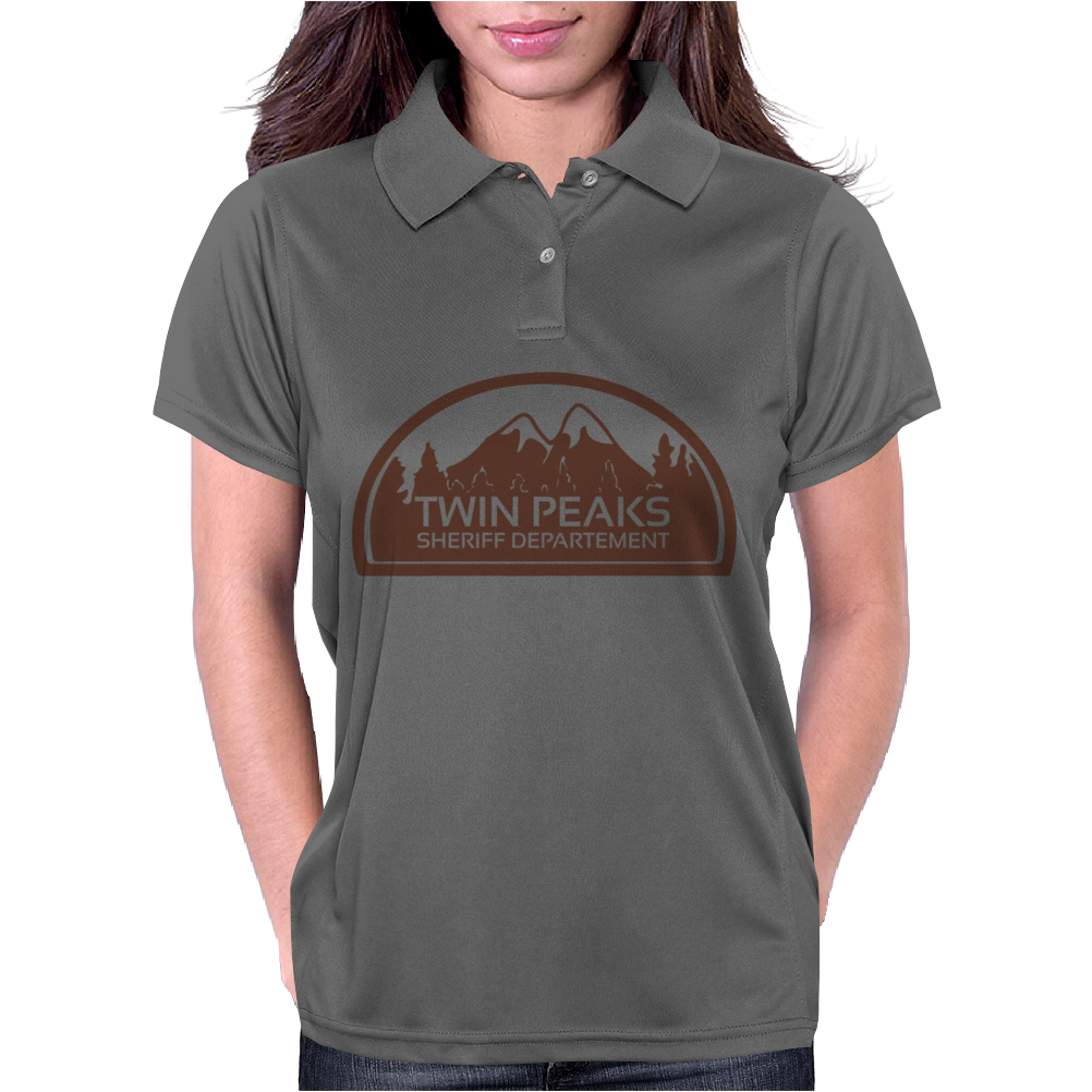 Twin Peaks Sheriff Department Womens Polo