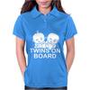 Twins on Board! Womens Polo