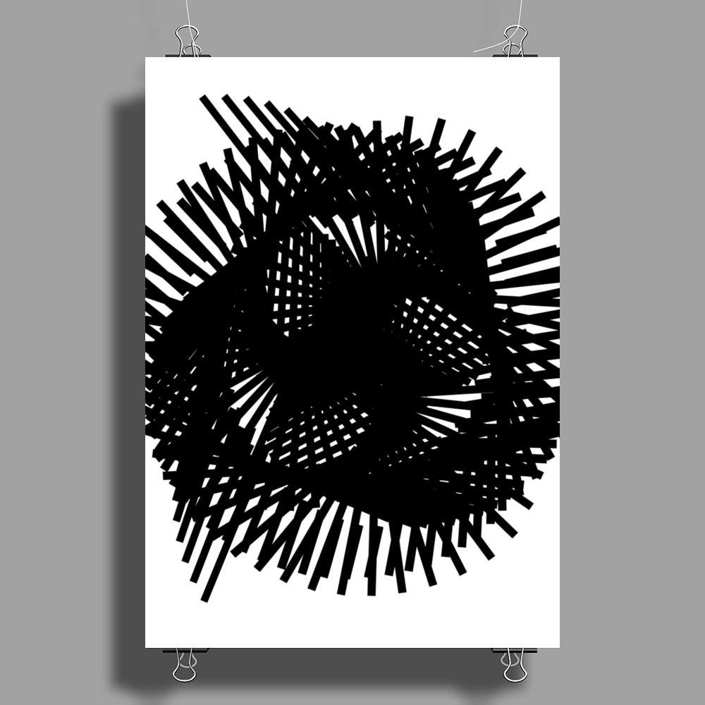Twist and twirl Poster Print (Portrait)
