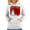Two and a half Stupid Dogs Womens Hoodie